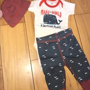 Baby boy 3 pc outfit